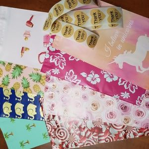 Other - 40 6x9 polymailers & thank you stickers